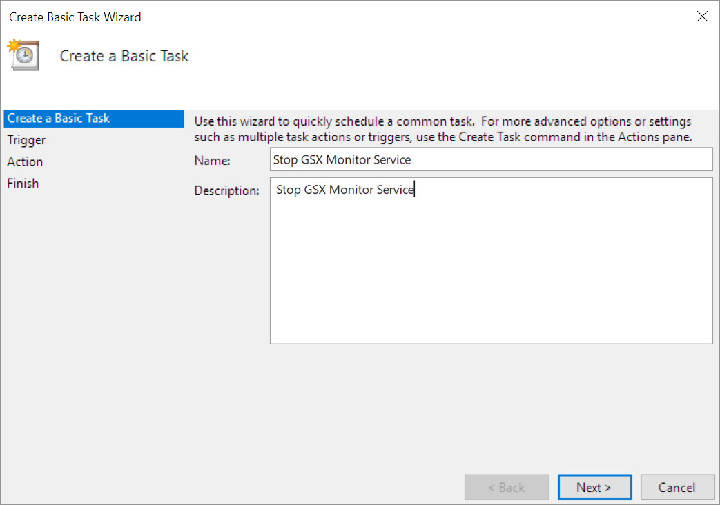 How To Restart Windows Services Using Task Scheduler – GSX