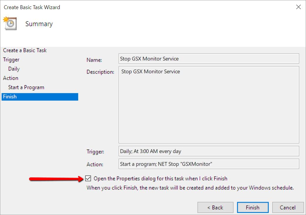 How To Restart Windows Services Using Task Scheduler – GSX Help Center