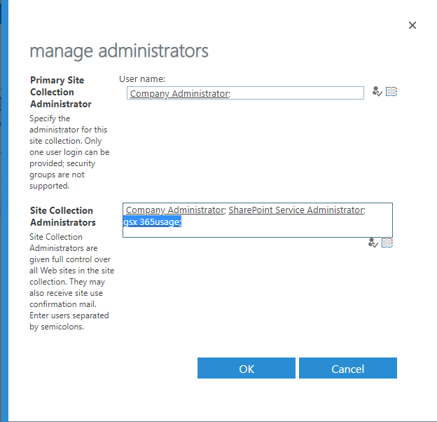 Configuring GSX 365 Usage reports for SharePoint Online