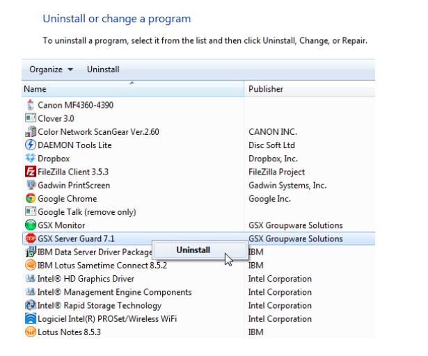 How to Upgrade GSX Server Guard 7 1 to 7 5 – GSX Help Center