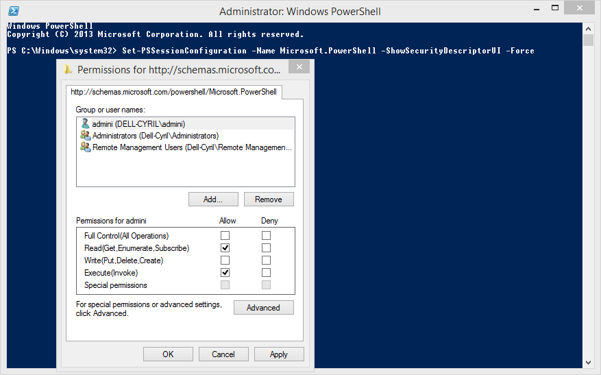 How To Configure Windows Remote Powershell Access For Non
