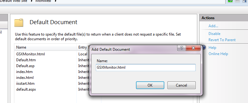 How To Manually Publish Web Enabler Using Iis Gsx Help Center