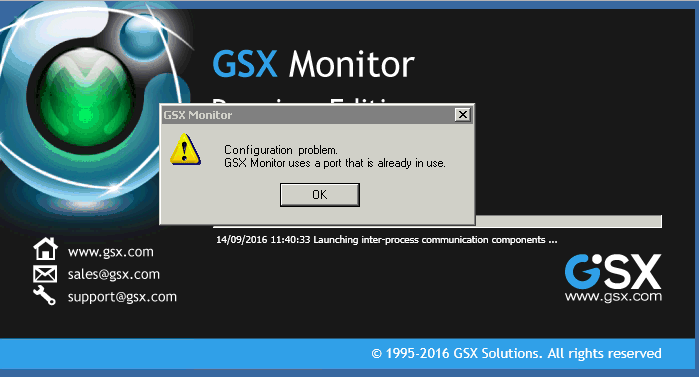 GSX Monitor Uses a Port That is Already in Use – GSX Help Center